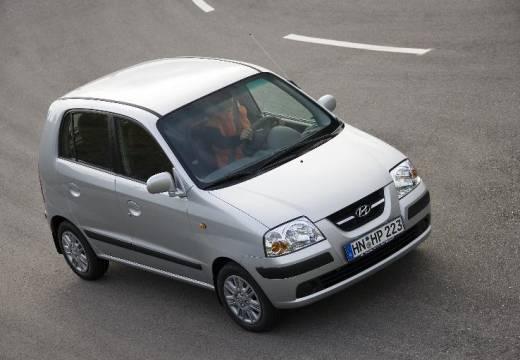 HYUNDAI Atos Prime III hatchback silver grey przedni prawy
