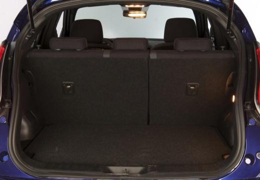 NISSAN Juke II hatchback przestrzeń załadunkowa