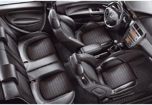 FIAT Punto Grande hatchback wnętrze
