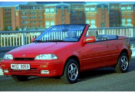 SUZUKI Swift kabriolet czerwony jasny przedni lewy