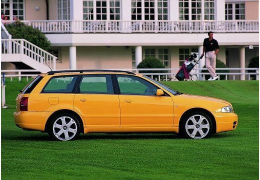 AUDI A4 Avant B5 kombi żółty boczny prawy