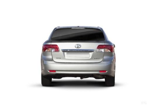 Toyota Avensis kombi silver grey tylny