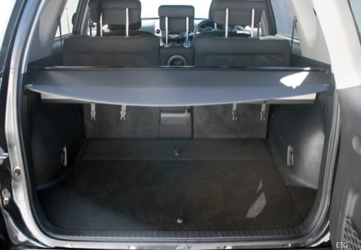 Toyota RAV4 IV kombi przestrzeń załadunkowa