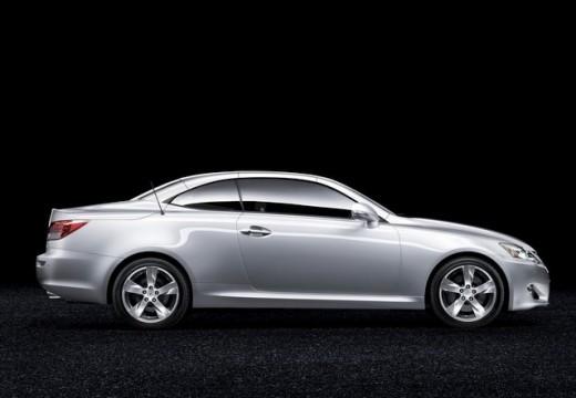 LEXUS IS C kabriolet silver grey boczny prawy