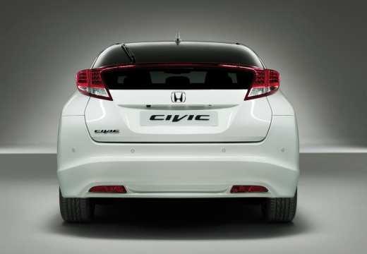 HONDA Civic VIII hatchback biały tylny