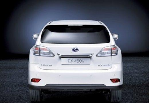 LEXUS RX II kombi biały tylny