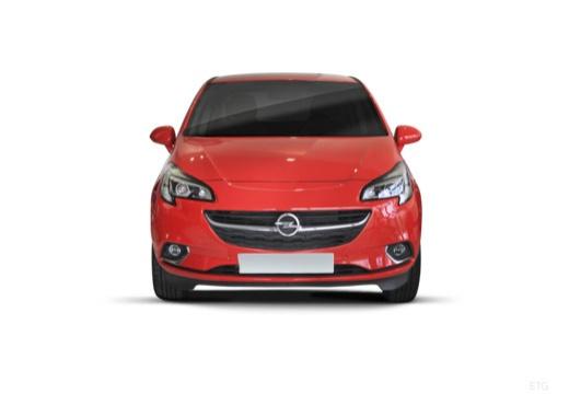 OPEL Corsa hatchback czerwony jasny przedni