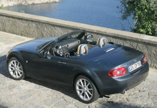MAZDA MX-5 V roadster silver grey tylny lewy