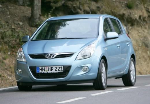 HYUNDAI i20 I hatchback niebieski jasny przedni lewy