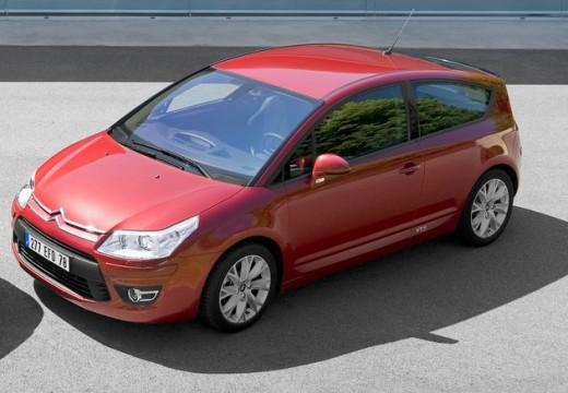 CITROEN C4 hatchback czerwony jasny przedni lewy