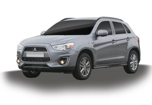 MITSUBISHI ASX II hatchback silver grey
