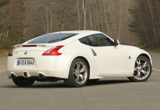 NISSAN 370 Z I coupe biały tylny prawy