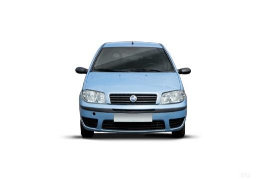 FIAT Punto II II hatchback niebieski jasny przedni