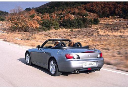 HONDA S 2000 I roadster silver grey tylny lewy