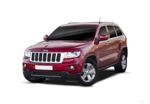 JEEP Grand Cherokee V kombi czerwony jasny przedni lewy