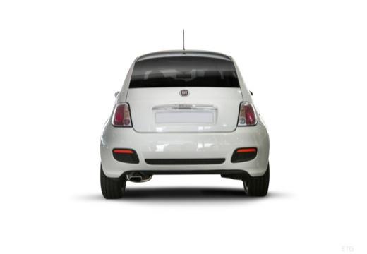FIAT 500 I hatchback tylny