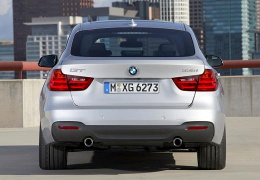 BMW Seria 3 Gran Turismo F34 I hatchback silver grey tylny