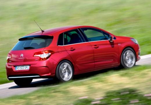 CITROEN C4 III hatchback czerwony jasny tylny prawy
