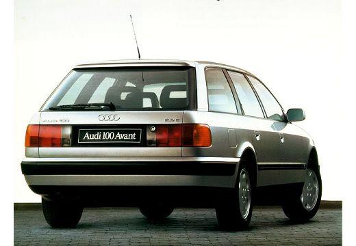 AUDI 100 kombi silver grey tylny prawy