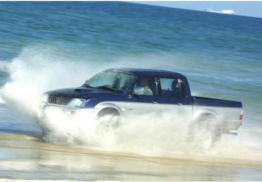 MITSUBISHI L 200 I pickup niebieski jasny przedni lewy