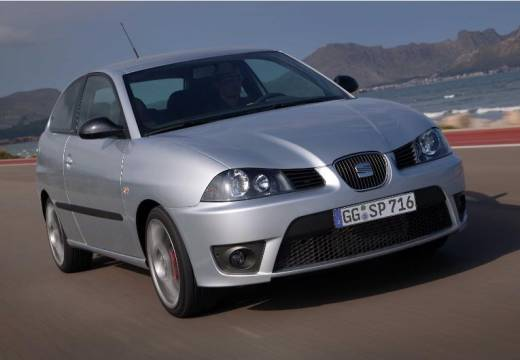 SEAT Ibiza IV hatchback silver grey przedni prawy