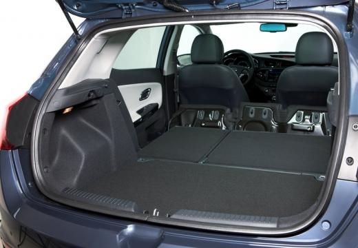 KIA Ceed III hatchback przestrzeń załadunkowa