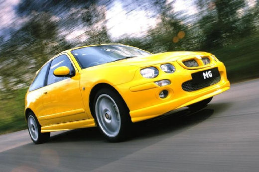 MG ZR 160 1.8 Hatchback I 160KM (benzyna)