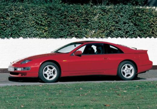 NISSAN 300 ZX targa czerwony jasny boczny lewy