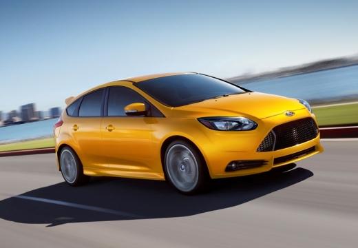 FORD Focus VI hatchback żółty przedni prawy