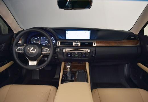 LEXUS GS V sedan szary ciemny tablica rozdzielcza
