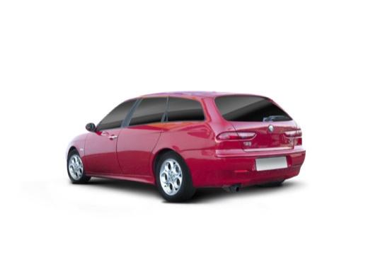ALFA ROMEO 156 Sportwagon II kombi czerwony jasny tylny lewy