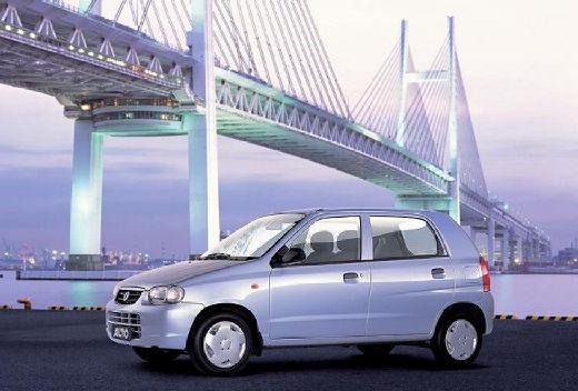 SUZUKI Alto III hatchback niebieski jasny przedni lewy