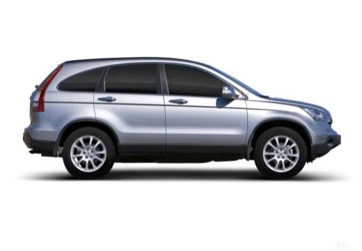 HONDA CR-V V kombi silver grey boczny prawy