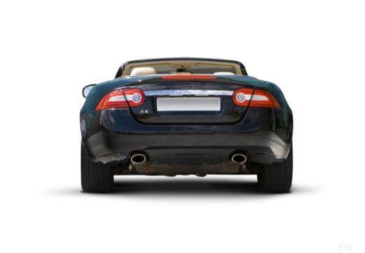 JAGUAR XK Convertible II kabriolet czarny tylny