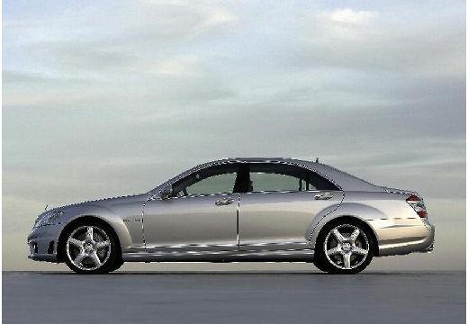 MERCEDES-BENZ Klasa S W 221 I sedan silver grey boczny lewy