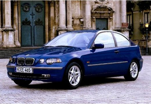 BMW Seria 3 Compact E46/5 hatchback niebieski jasny przedni lewy