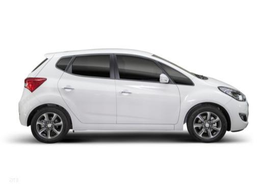 HYUNDAI ix20 II hatchback biały boczny prawy