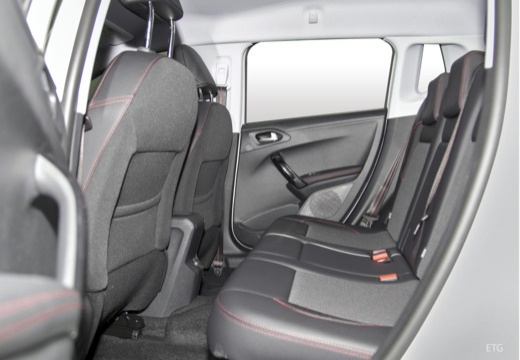 PEUGEOT 208 hatchback wnętrze