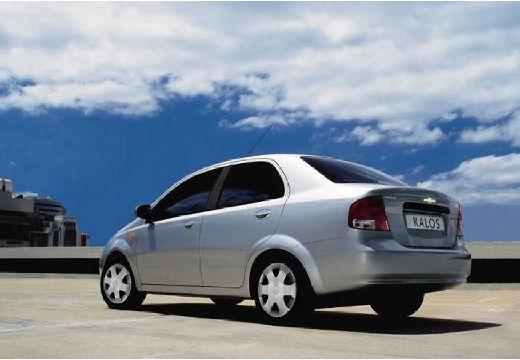 CHEVROLET Aveo I sedan silver grey tylny lewy