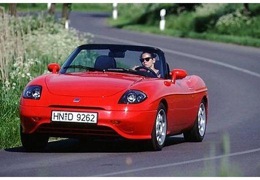 FIAT Barchetta kabriolet czerwony jasny przedni lewy
