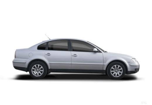VOLKSWAGEN Passat IV sedan silver grey boczny prawy