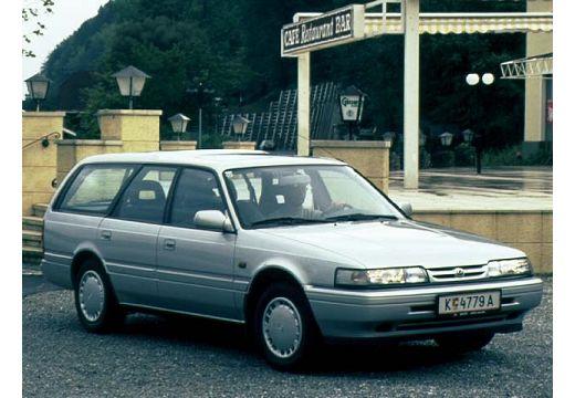 MAZDA 626 II kombi silver grey przedni prawy