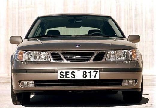 SAAB 9-5 sedan brązowy przedni