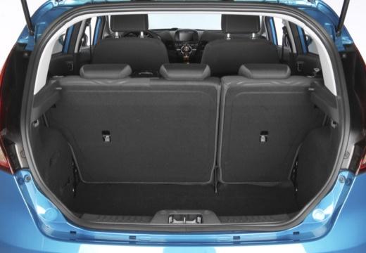 FORD Fiesta VIII hatchback przestrzeń załadunkowa