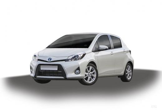 Toyota Yaris V hatchback biały