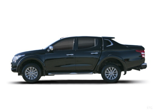 MITSUBISHI L 200 IV pickup czarny boczny lewy