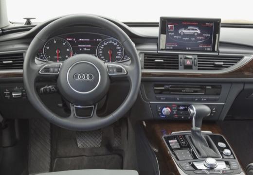 AUDI A6 Allroad IV kombi szary ciemny tablica rozdzielcza