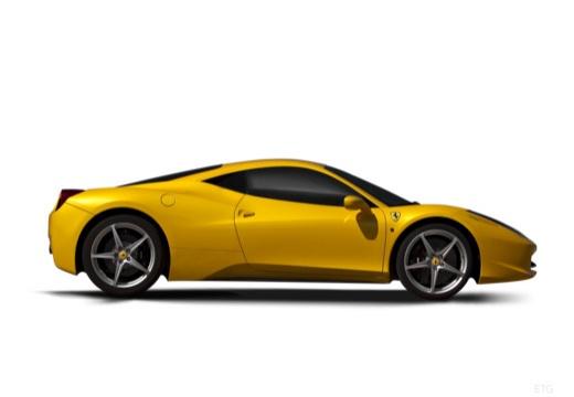 FERRARI 458 I coupe żółty boczny prawy