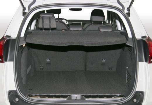 PEUGEOT 208 2008 hatchback przestrzeń załadunkowa