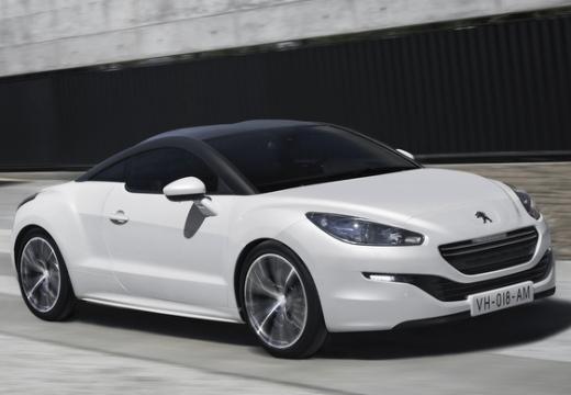 PEUGEOT RCZ coupe biały przedni prawy